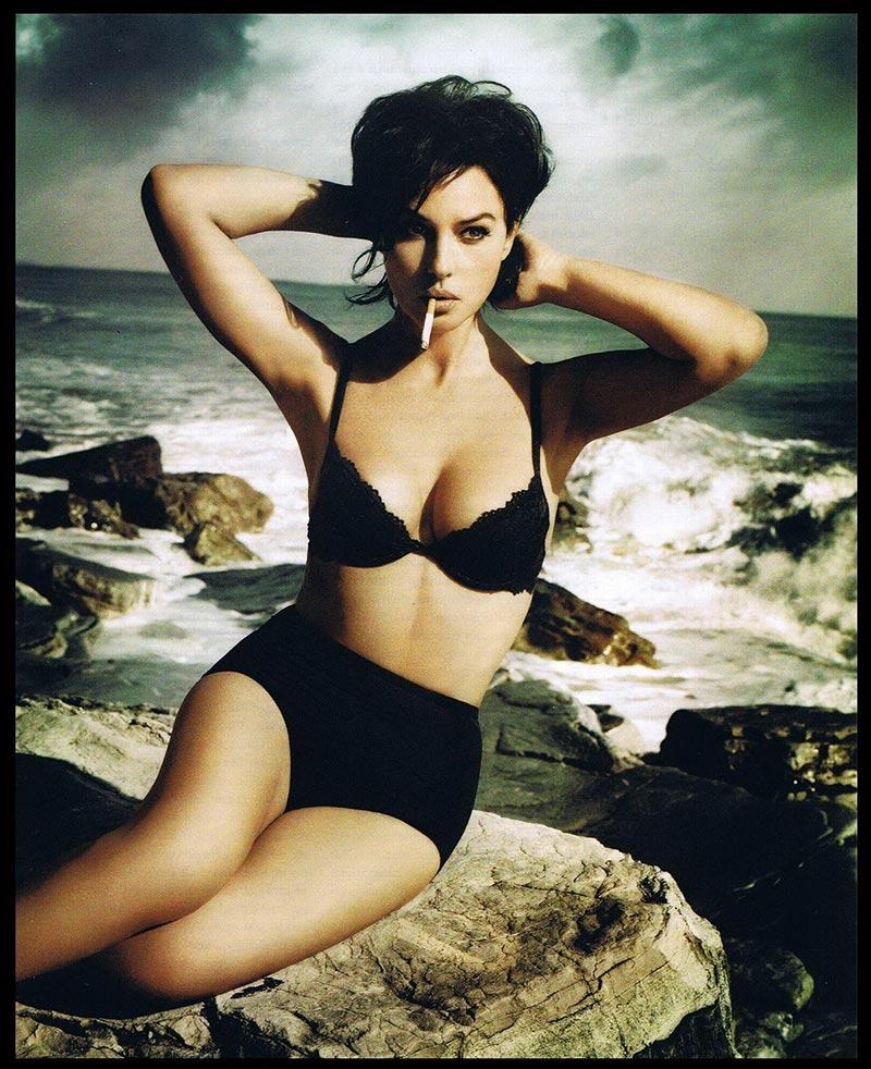Monica Bellucci Fotos Eróticas Revista Moda 2