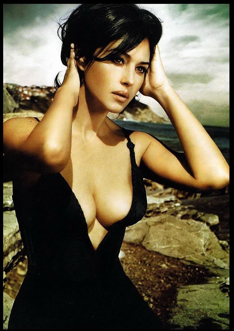 Monica Bellucci Fotos Eróticas Revista Moda 3