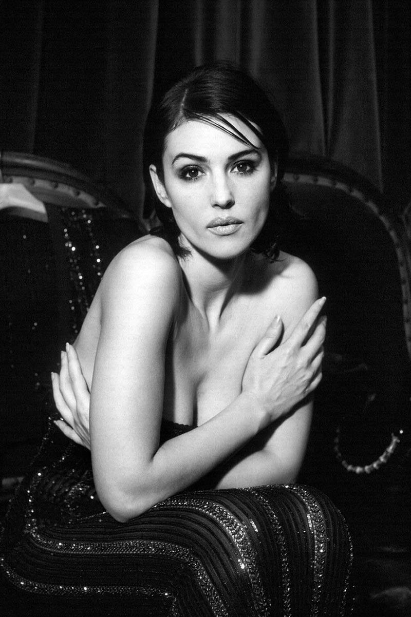 Monica Bellucci Fotos Eróticas Revista Moda 5