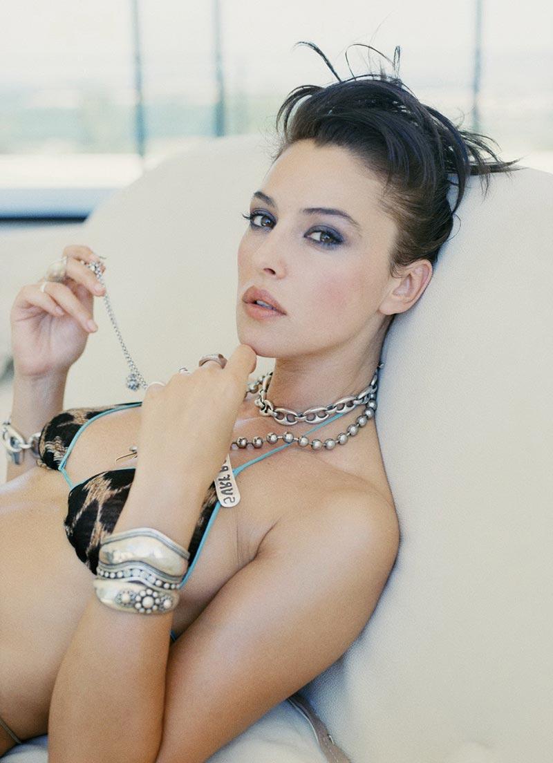 Monica Bellucci Fotos Eróticas Revista Moda 6
