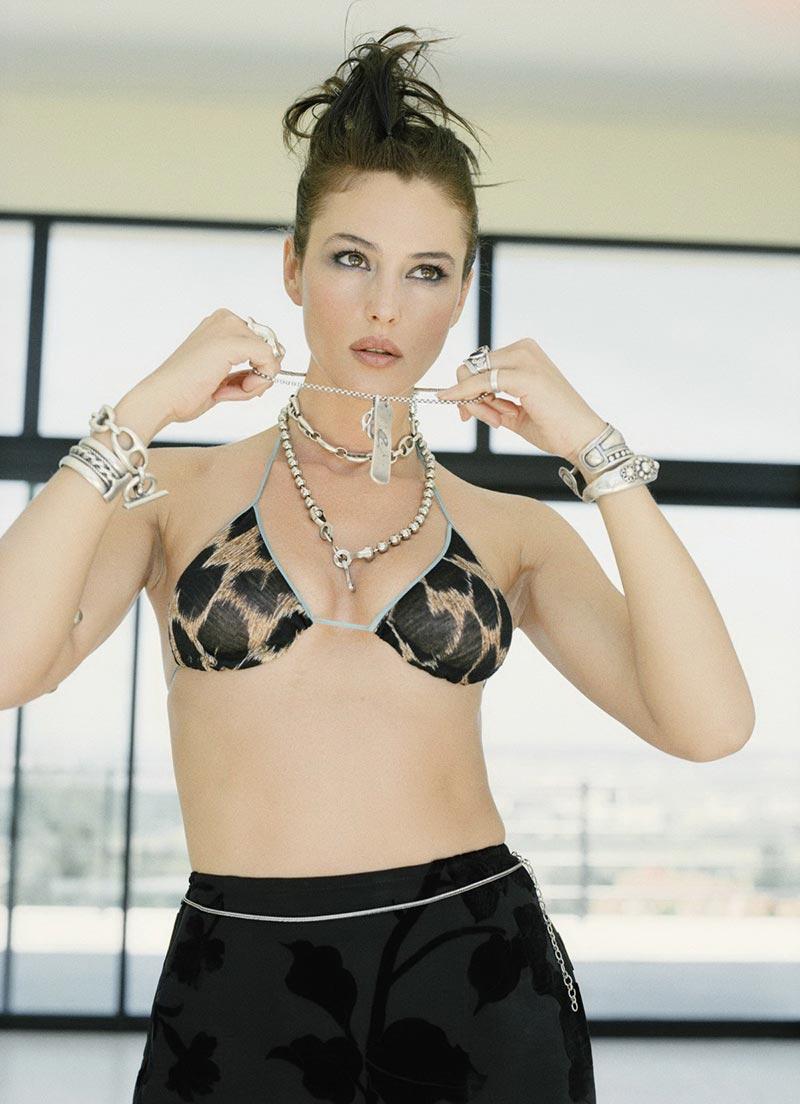 Monica Bellucci Fotos Eróticas Revista Moda 9