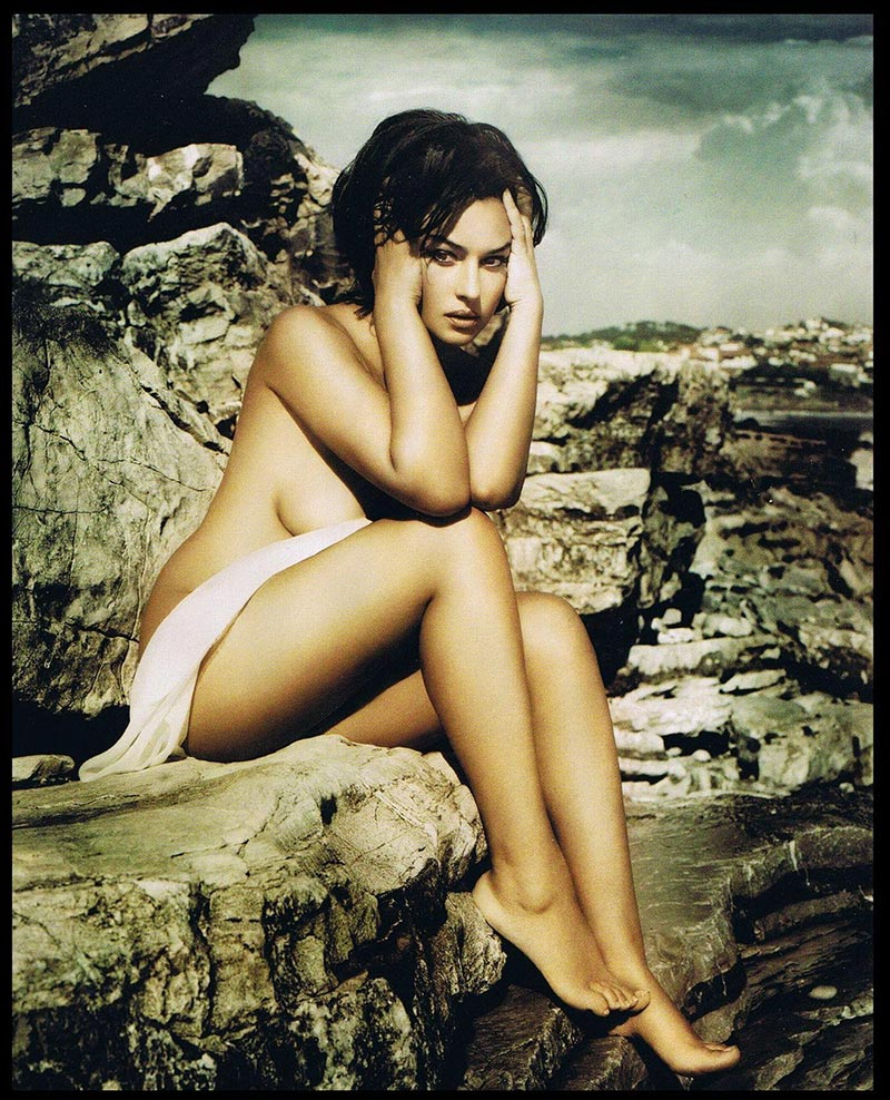 Monica Bellucci Fotos Eróticas Revista Moda