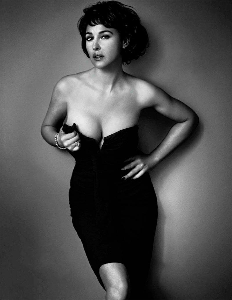 Monica Bellucci Fotos Sexys Ropa Interior 8