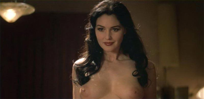 Monica Bellucci Topless Película Francesa