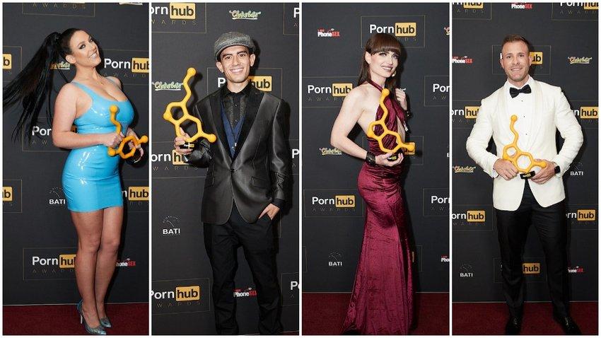 Premios ceremonia ganadores PornHub Awards 2019
