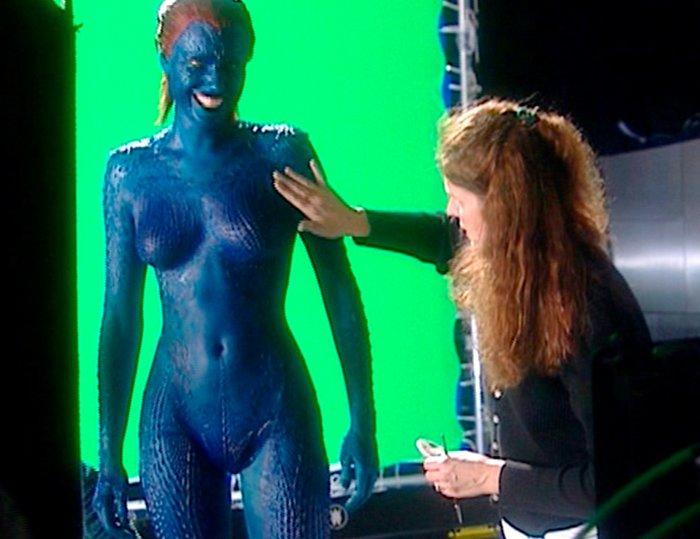 Rebecca Romijn actriz Mística X-Men