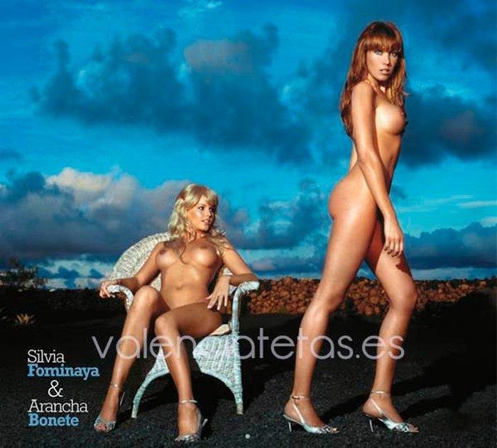 Silvia Fominaya Arancha Bonete desnudas revista erótica