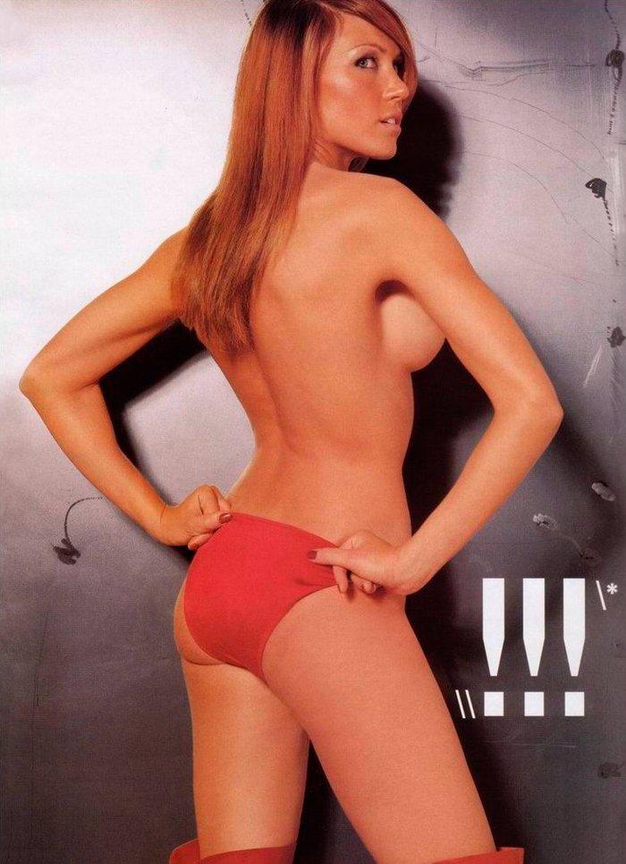Silvia Fominaya bañador rojo