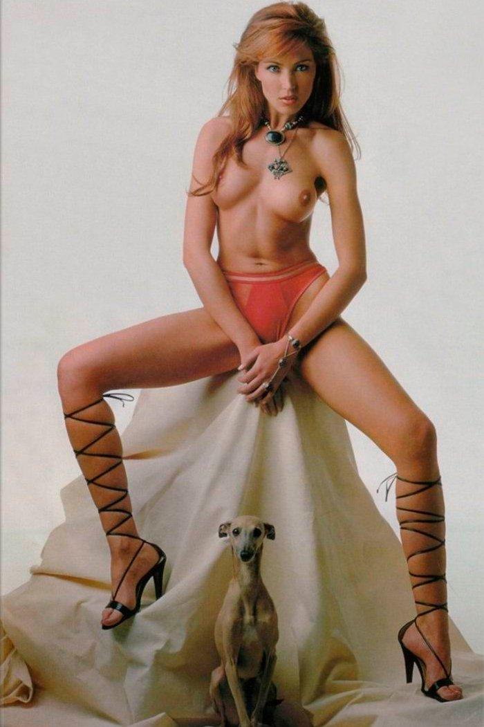 Silvia Fominaya físico de modelo