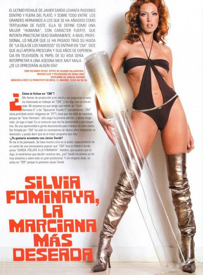 Silvia Fominaya presentadora televisión