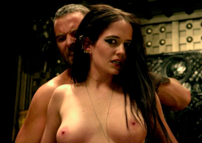 Eva Green escena sexual 300 origen del Imperio