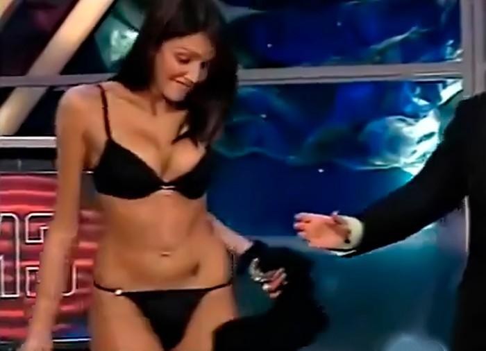 Nuria Bermúdez lencería Crónicas Marcianas