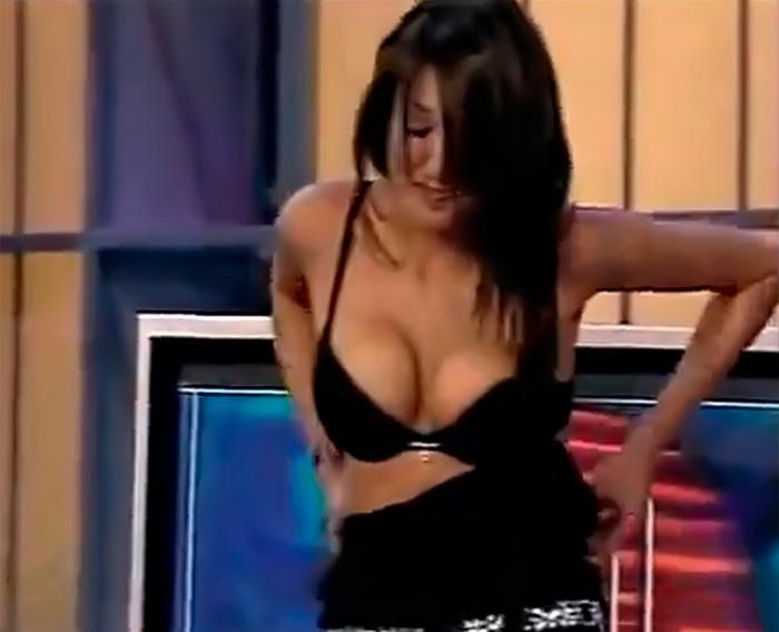 Nuria Bermúdez ropa interior Crónicas Marcianas