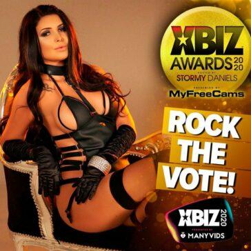 Pornostars nominadas a los XBIZ Awards 2020