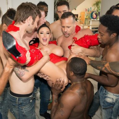 Angela White Dark Side gangbang final