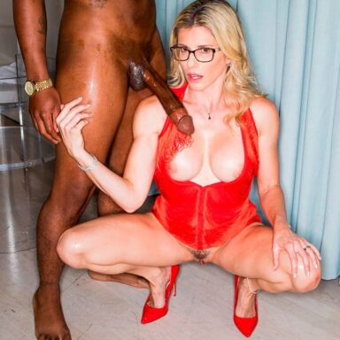 Cory Chase debut interracial