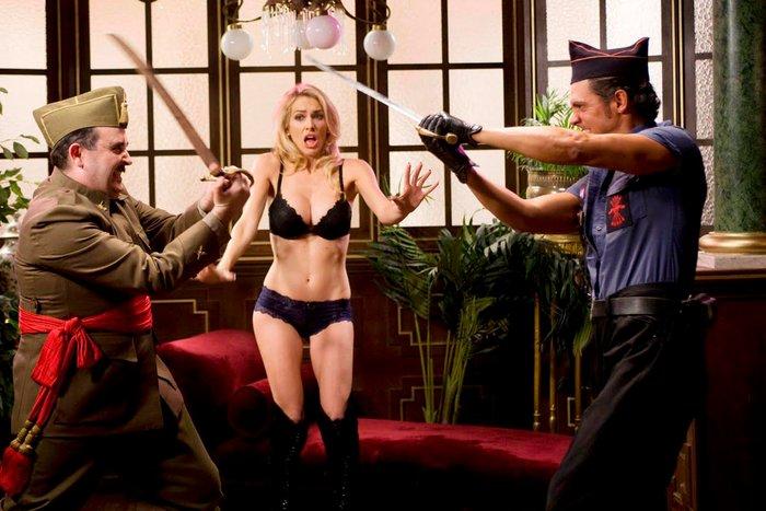 Kira Miro fotos película erótica