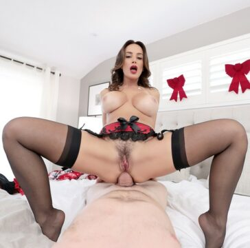 Lisa Ann celebra Navidad sexo