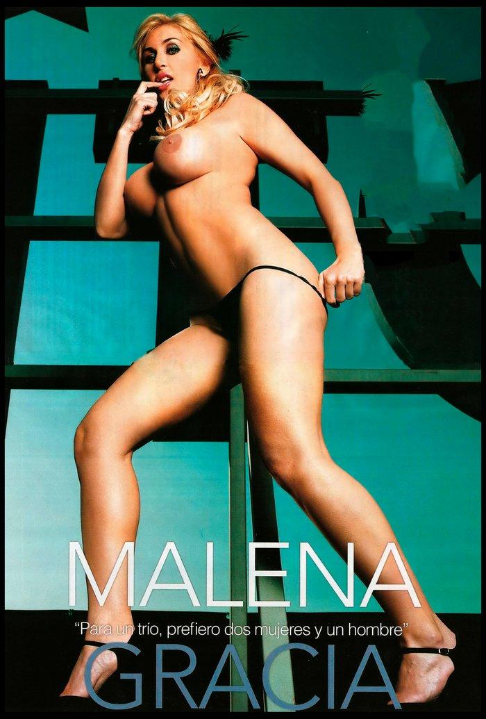 Malena Gracia cuenta escarceos sexuales