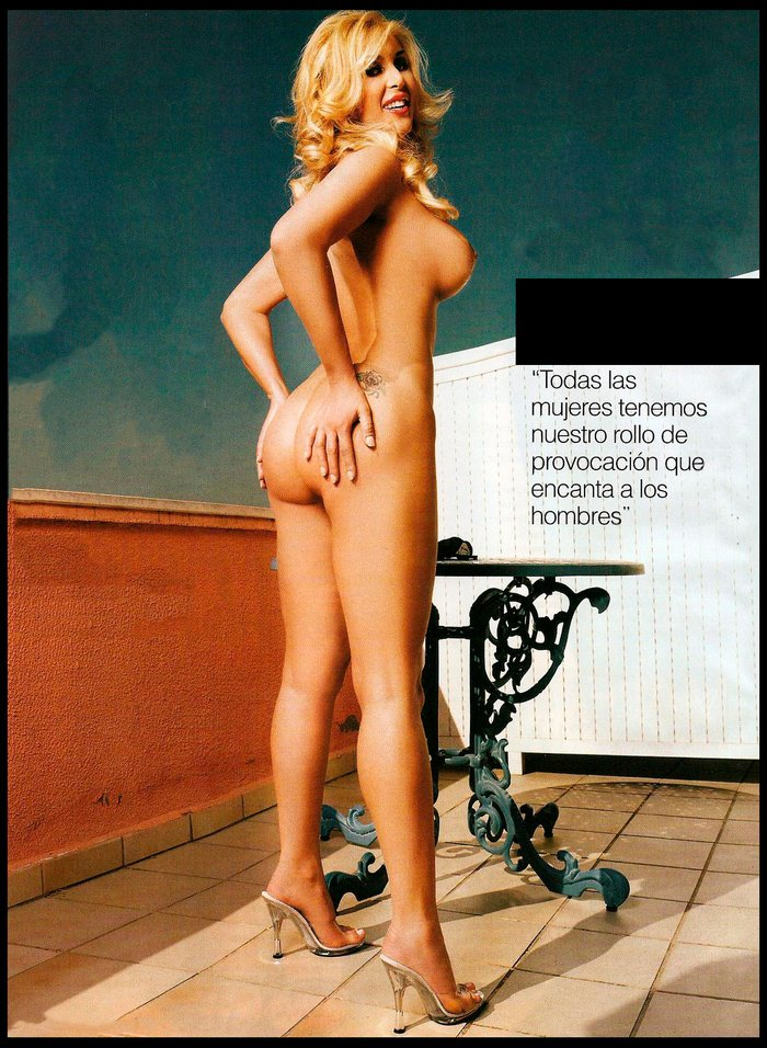 Malena Gracia entrevista desnuda