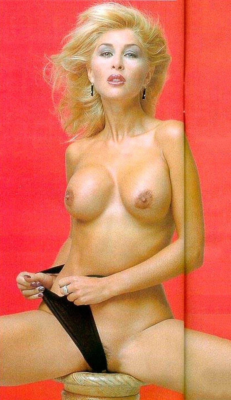 Malena Gracia posando desnuda Interviu
