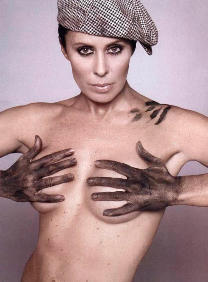 Miriam DiazAroca topless fotos