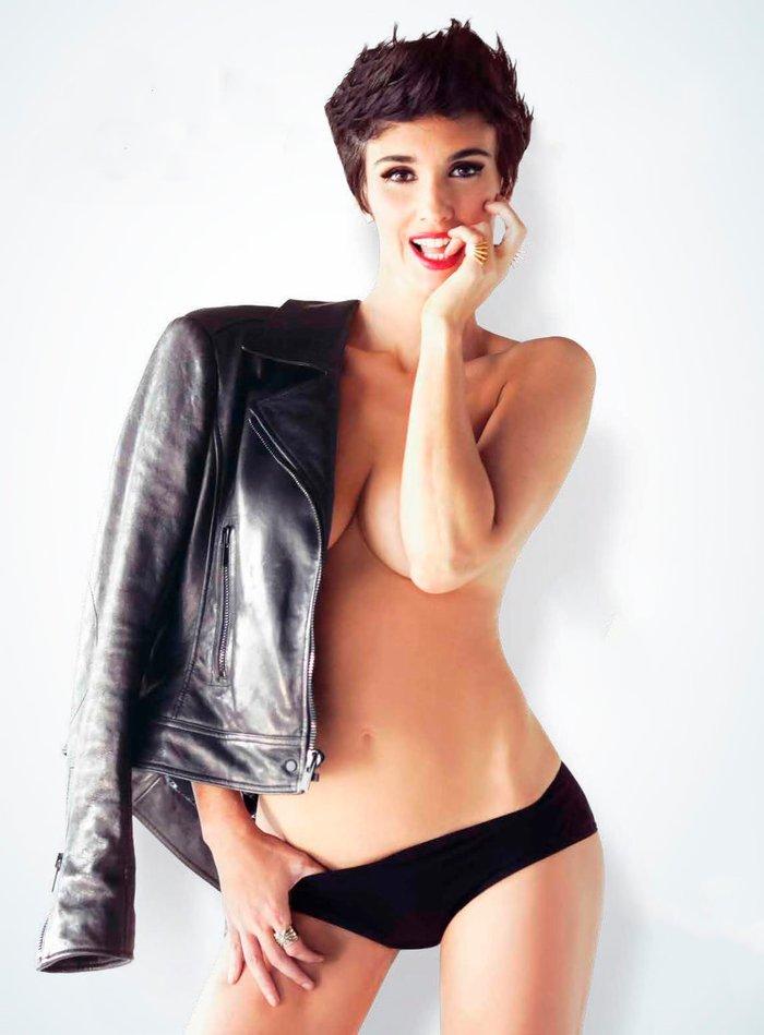 Paz Vega desnuda revista Esquire