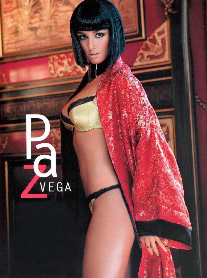 Paz Vega sesión fotográfica ropa interior