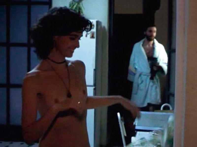 Paz Vega Topless Película Zapping 3