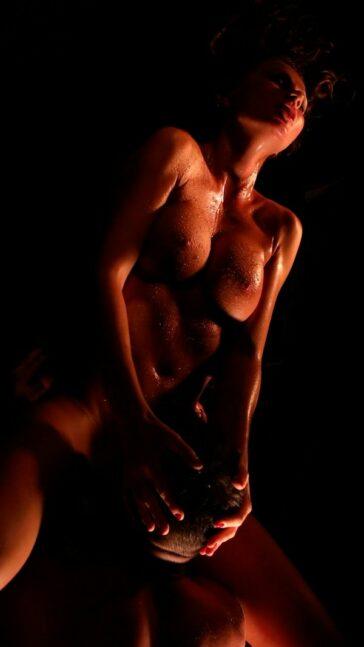 Tina Kay aposentos artísticos porno