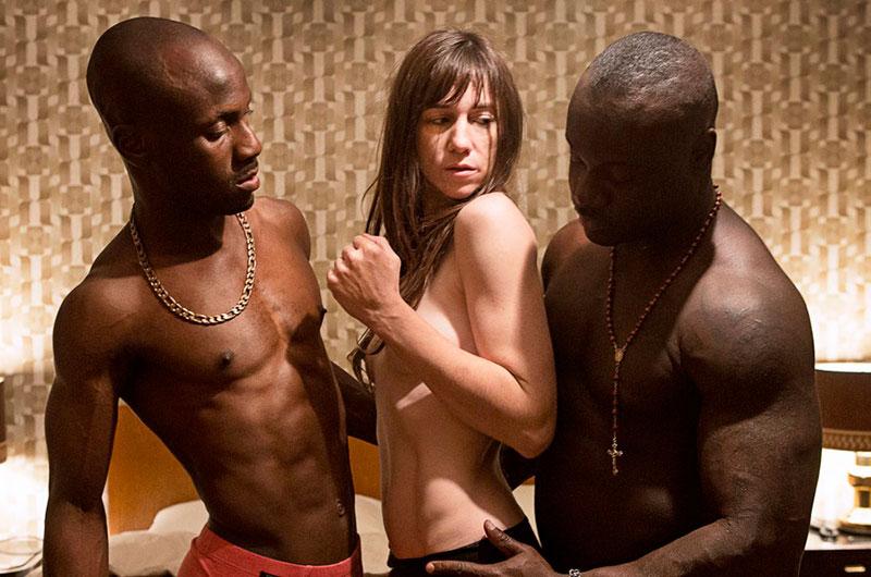 Charlotte Gainsbourg Escena Interracial Nymphomaniac 2