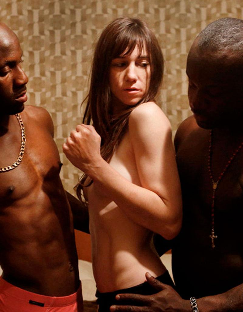 Charlotte Gainsbourg Escena Interracial Nymphomaniac