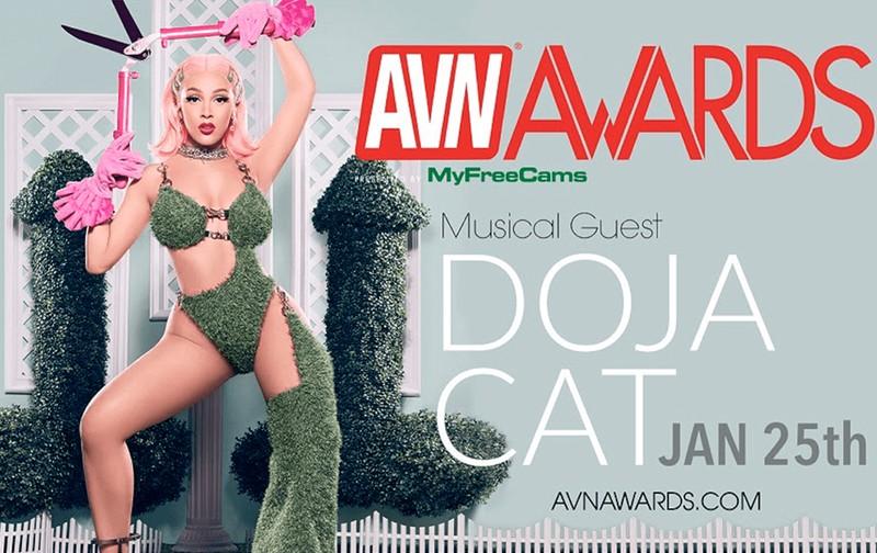 Doja Cat Cantante invitada AVN Awards 2020