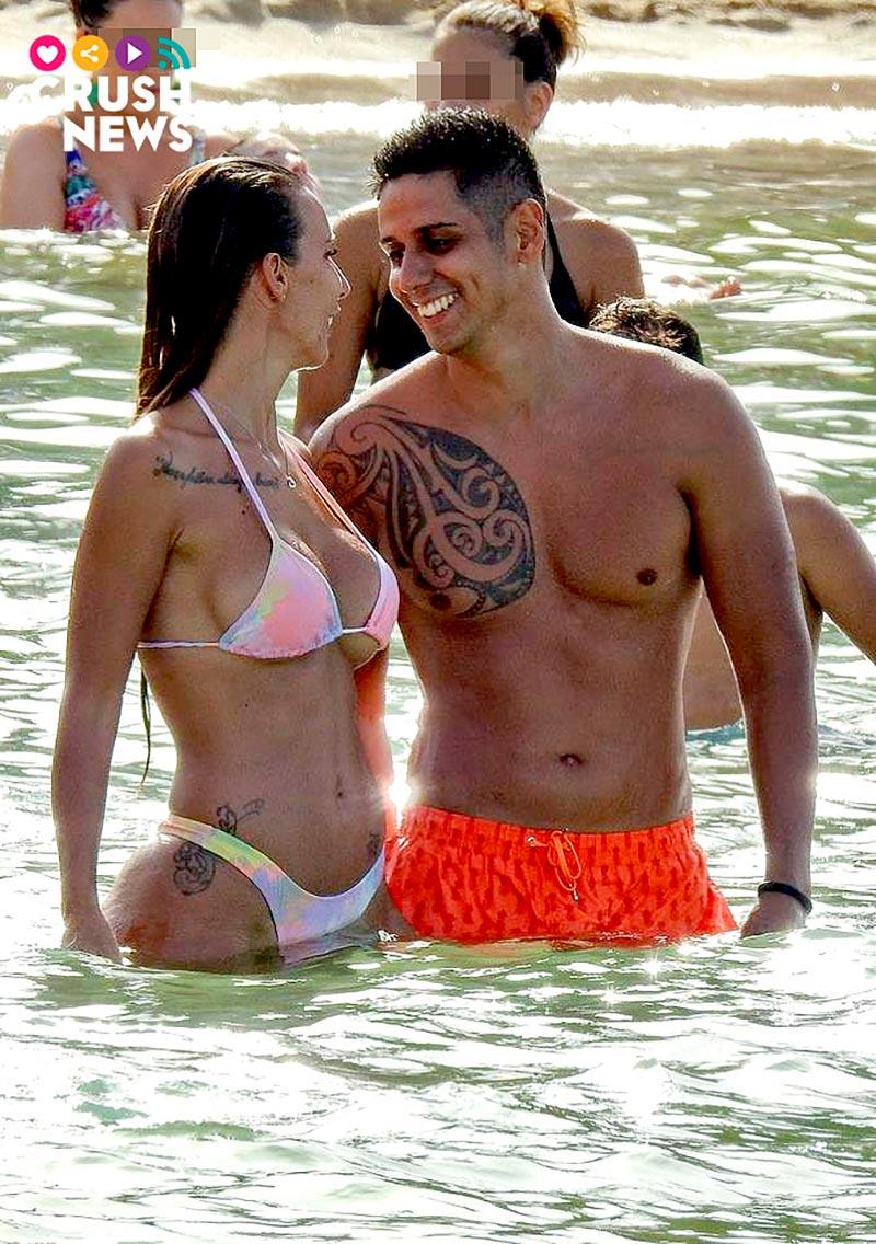 Fani Carbajo Christofer Bikini Ibiza Boda
