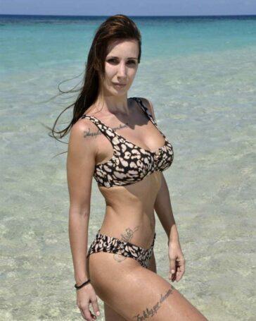 Fani Carbajo Desnuda Bikini Isla Tentaciones Estefania Cuernos