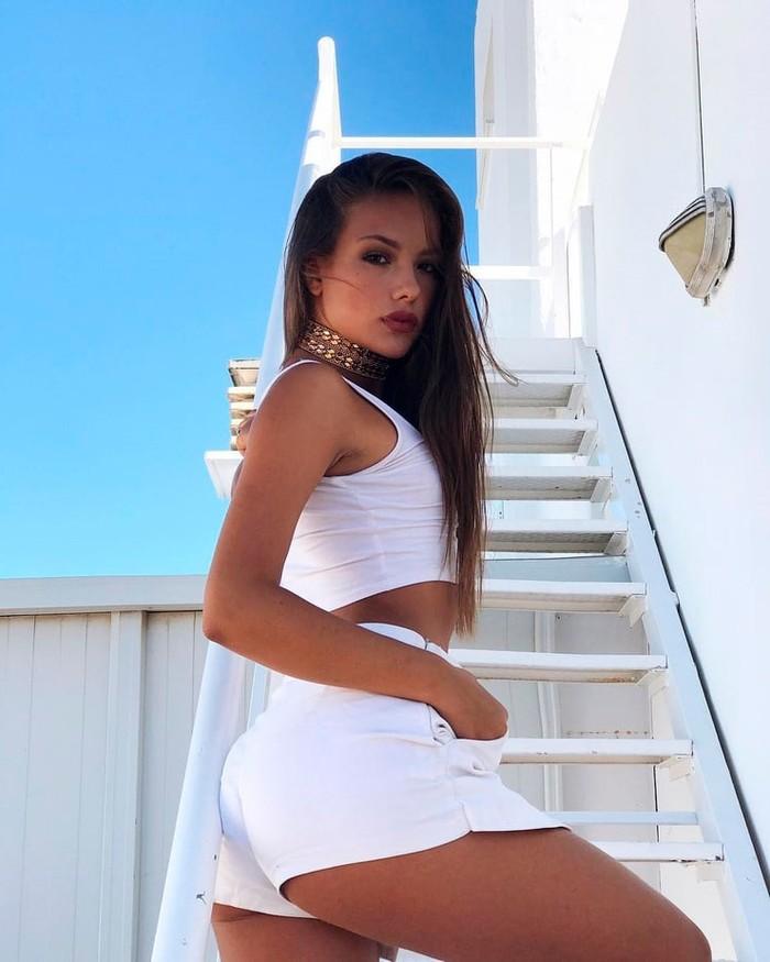 Katerina Safarova modelo pareja Neymar