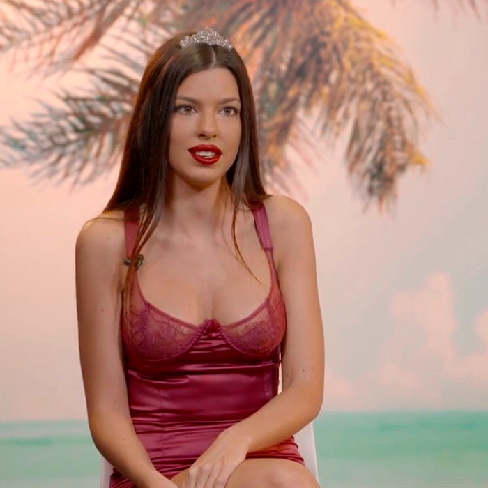 Andrea Gasca bizca Isla Tentaciones