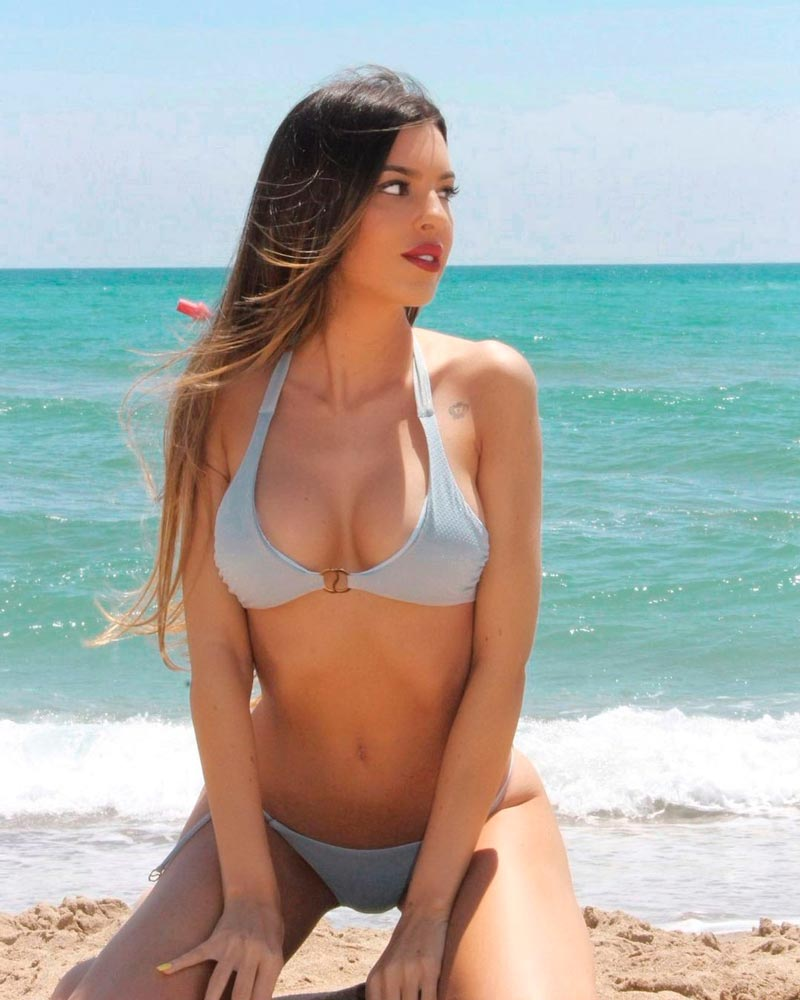 Andrea Gasca Fotos Sexys Bikini Cuerpazo 3