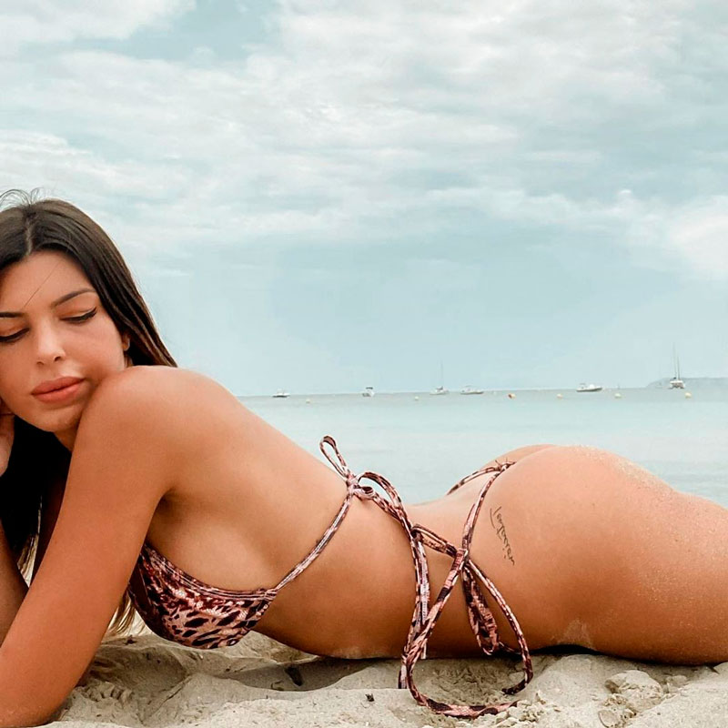 Andrea Gasca Fotos Sexys Bikini Cuerpazo 5