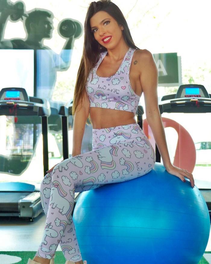 Andrea Gasca mallas gimnasio