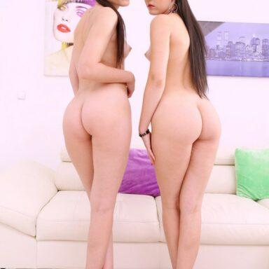 Lady Zee Sandra Zee hermanas gemelas Legal Porno