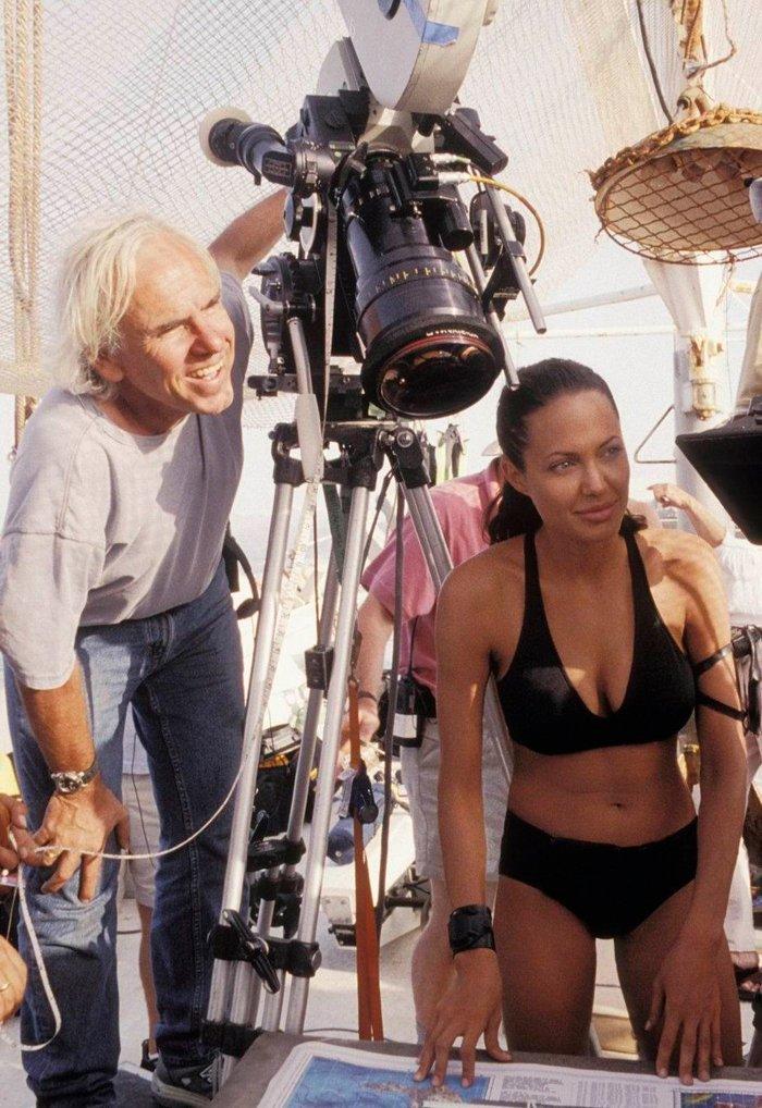 Angelina Jolie bikini rodaje Tomb Raider