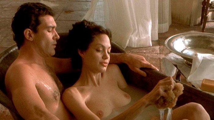 Angelina Jolie follando Pecado Original