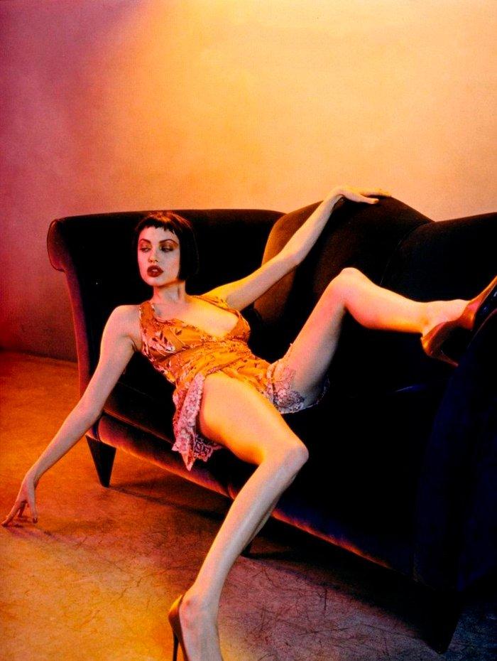 Angelina Jolie fotos sexys lencería 5