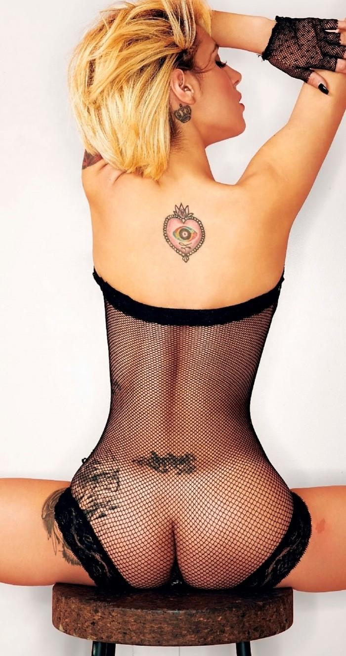 Beatriz Retamal posado erótico revista Interviu
