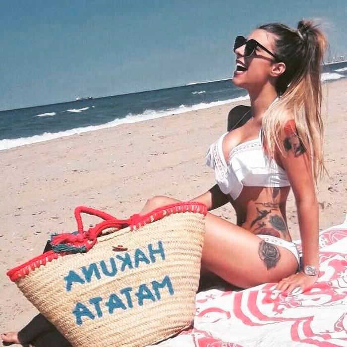 Beatriz Retamal tatuajes cuerpo