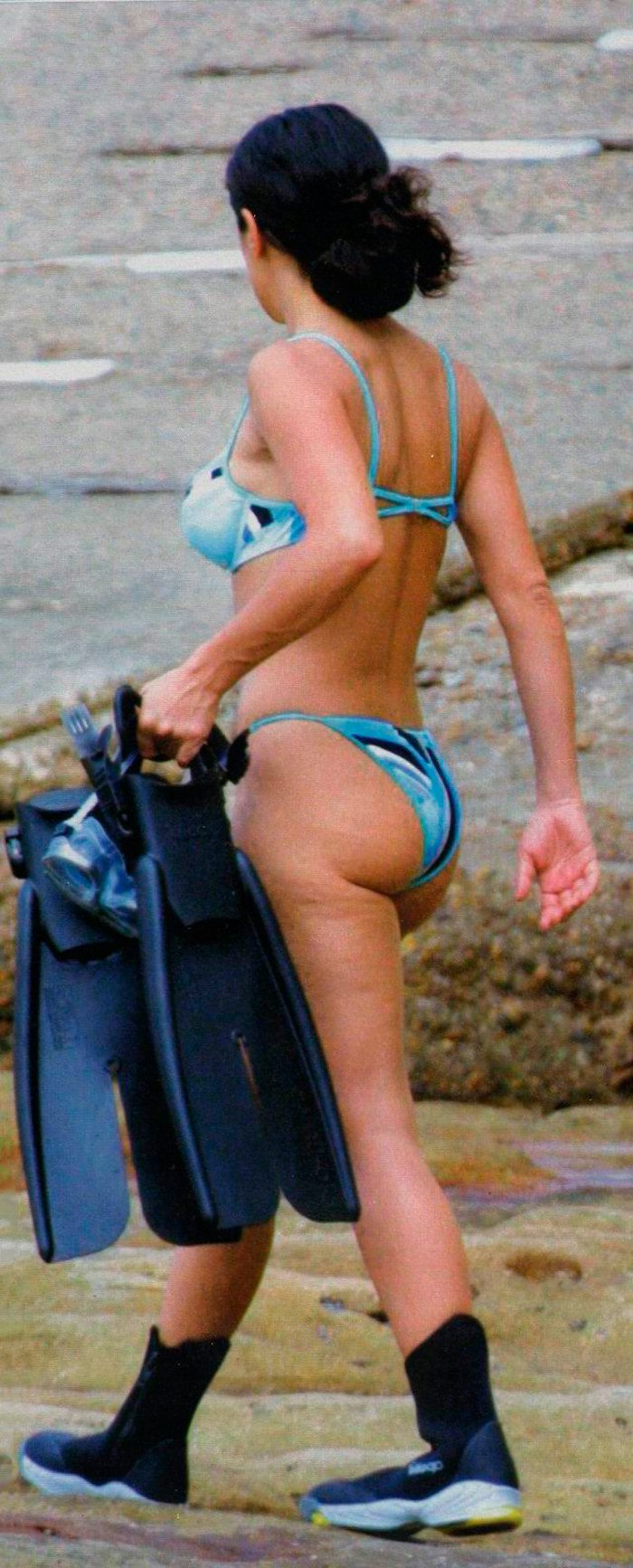 Salma Hayek fotos bikini vacaciones 2
