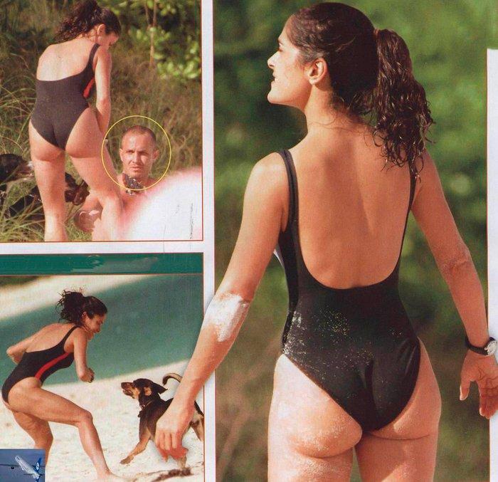 Salma Hayek fotos bikini vacaciones 3