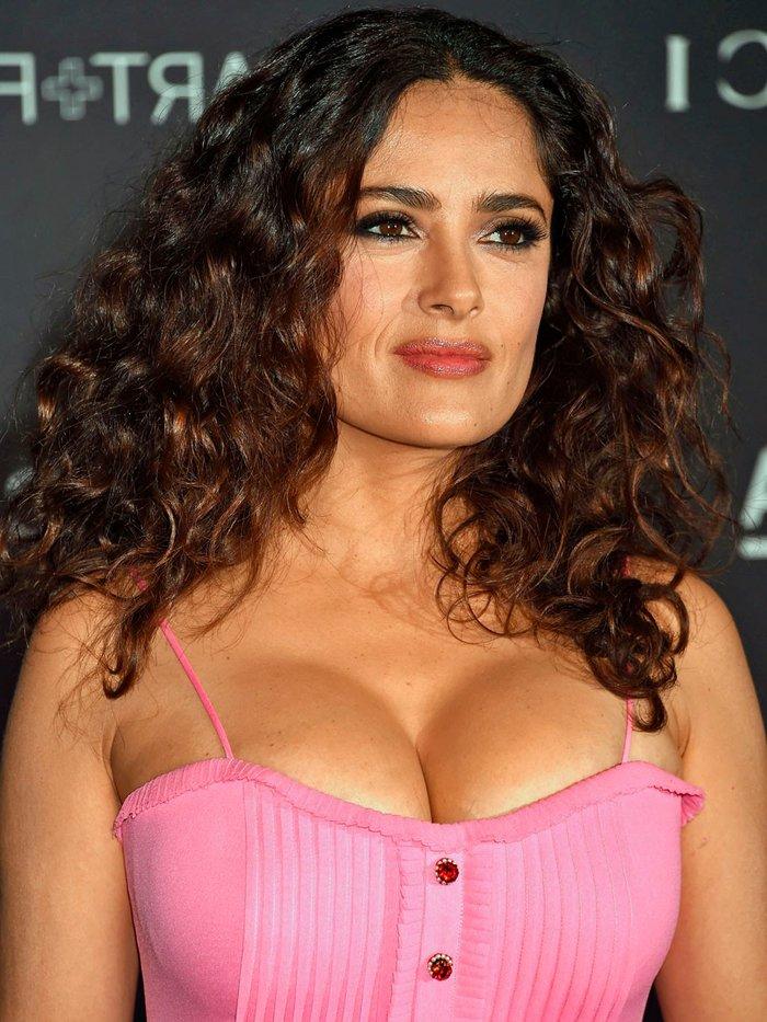 Salma Hayek melones extra grandes
