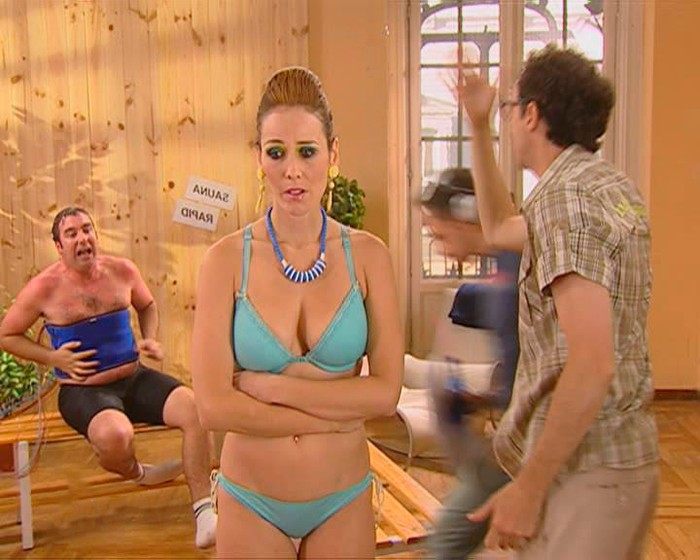 Isabel Pintor desnuda lencería Agitación IVA